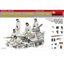 Miniart 35249 - German Tank Crew (Winter Uniforms) - SpecialEdition - 5 figures 1:35