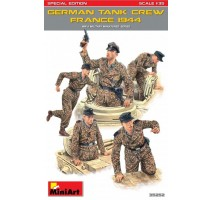 Miniart 35252 - German Tank Crew (France 1944), Special Edition - 5 figures 1:35