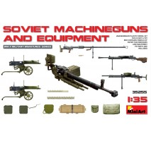 Miniart 35255 - Soviet Machineguns & Equipment 1:35