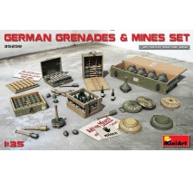 Miniart 35258 - 1:35 German Grenades & Mines Set