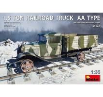 Miniart 35265 - 1:35 1,5 Ton Railroad Truck AA Type