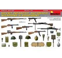 Miniart 35268 - Soviet Infantry Automatic Weapons & Equipment, Special Edition (PE Parts) 1:35