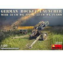 Miniart 35269 - 1:35 German Rocket Launcher with 28cm WK Spr & 32cm WK Flamm