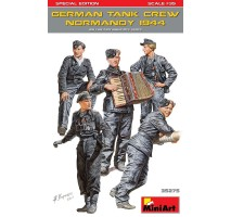 Miniart 35275 - 1:35 German Tank Crew ( Normandy 1944 ) Special Edition - 5 figures