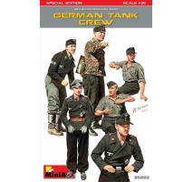 Miniart 35283 - 1:35 German Tank Crew. Special Edition - 6 figures