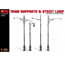 Miniart 35523 - Tram Supports and Street Lamps 1:35