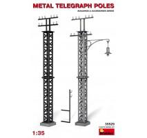 Miniart 35529 - Metal Telegraph Poles 1:35