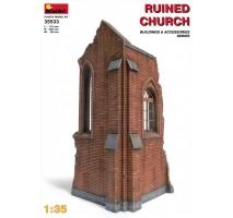 Miniart 35533 - 1:35 Church Ruin
