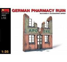 Miniart 35537 - 1:35 German Pharmacy Ruin