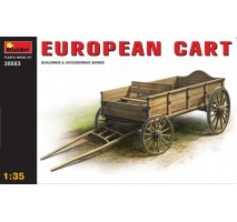Miniart 35553 - European Cart 1:35