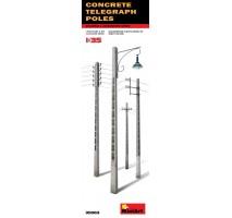 Miniart 35563 - Concrete Telegraph Poles 1:35