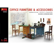 Miniart 35564 - Office Furniture & Accessories 1:35