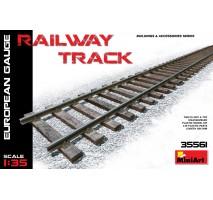 Miniart 35561 - Railway Track (European Gauge) 1:35