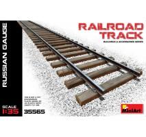Miniart 35565 - Railroad Track (Russian Gauge) 1:35