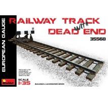 Miniart 35568 - Track & Dead End (European Gauge) 1:35