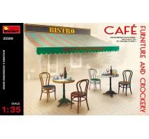 Miniart 35569 - Cafe Furniture & Crockery 1:35