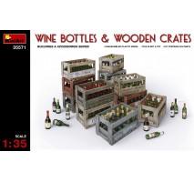 Miniart 35571 - Wine Bottles & Wooden Crates 1:35