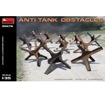 Miniart 35579 - Anti-tank Obstacles - 12 pieces 1:35