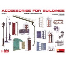 Miniart 35585 - Accessories for Buildings 1:35