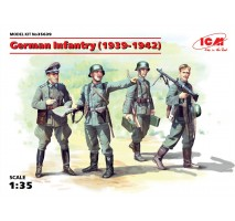 ICM 35639 - 1:35 German Infantry (1939-1941) (4 figures) (100% new molds)