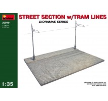 Miniart 36040 - Street section with tram line 1:35