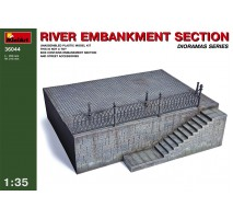 Miniart 36044 - 1:35 River Embankment Section