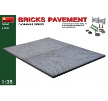 Miniart 36048 - Bricks Pavement 1:35