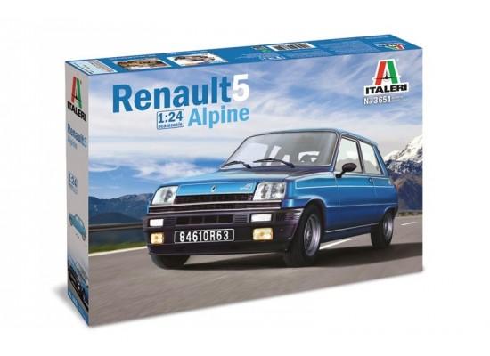 Italeri 3651 - 1:24 RENAULT 5 ALPINE