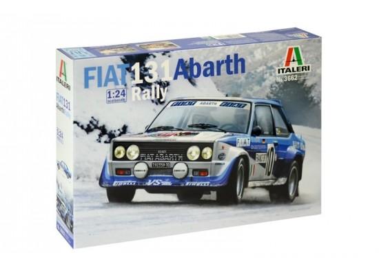 Italeri 3662 - 1:24 FIAT 131 ABARTH RALLY
