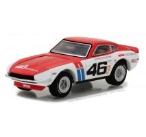 GreenLight 29880-A - Tokyo Torque Series 1 - 1970 Datsun 240Z - #46 Brock Racing Enterprises (BRE) - John Morton Solid Pack