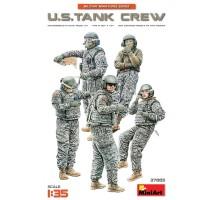 Miniart 37005 - 1:35 U.S. Tank Crew - 5 figures