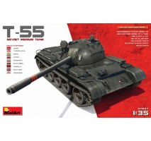 Miniart 37027 - T-55 Soviet Medium Tank 1:35 (RESEALED)
