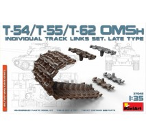 Miniart 37048 - T-54/T-55/T-62 OMSh Ind.Track Links Set, LateType 1:35