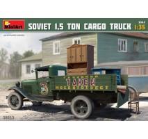 """Miniart 38013 - Soviet 1,5 ton Truck AA Type """"Polutorka"""" 1:35"""