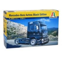Italeri 3841 - 1:24 Mercedes-Benz ACTROS Black Edition