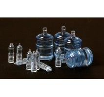 MENG SPS-010 - SPS-010 WATER BOTTLES FOR VEHICLE/DIORAMA
