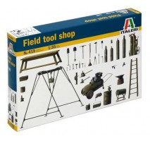 Italeri 0419 - 1:35 FIELD TOOL SHOP