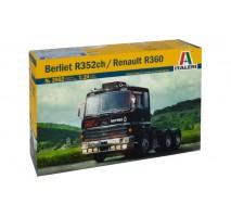 Italeri 3902 - 1:24 BERLIET 352ch / RENAULT R360 6x4