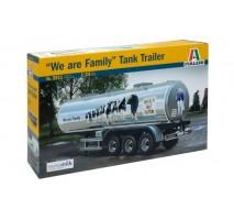 """Italeri 3911 - 1:24 CLASSIC TANK TRAILER """"We are family"""""""