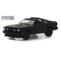 GreenLight 27950-E - 1978 Ford Mustang II King Cobra Solid Pack - Black Bandit Series 19