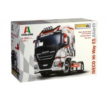 "Italeri 3934 - 1:24 IVECO HI-WAY E.5 ""ABARTH"" ShowTrucks"