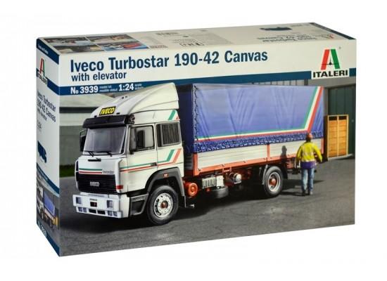 Italeri 3939 - 1:24 IVECO TURBOSTAR 190.42 CANVAS TRUCK