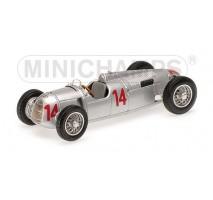 Minichamps - AUTO UNION TYP C - ACHILLE VARZI - HUNGARIAN GP 1936 L.E. 504 pcs.