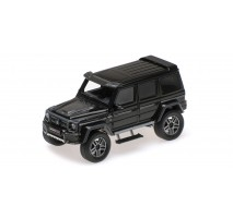 Minichamps 437032460 - BRABUS 4×4² AUF BASIS MERCEDES-BENZ G 500 4×4² – 2016 – BLACK L.E. 600 PCS.