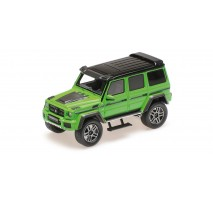Minichamps 437032461 - BRABUS 4×4² AUF BASIS MERCEDES-BENZ G 500 4×4² – 2016 – GREEN