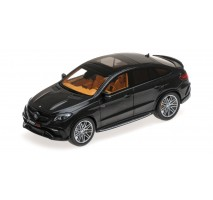 Minichamps 437034311 - BRABUS 850 AUF BASIS MERCEDES-BENZ GLE 63 S – 2016 – BLACK METALLIC L.E. 300 pcs.