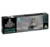 Italeri 46501 - 1:700 World of Warships - German Battleship Bismarck