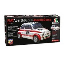 Italeri 4705 - 1:12 FIAT Abarth 695SS/Assetto Corsa