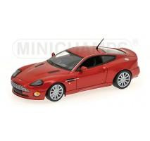 Minichamps - ASTON MARTIN VANQUISH S - 2004 - RED METALLIC