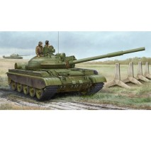 Trumpeter 01553 - 1:35 Russian T-62 BDD Mod.1984 (Mod.1962 modification) - with 3 figures